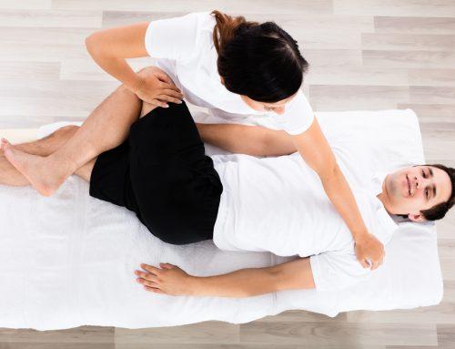 Nouveau: massage avec mobilisation articulaire
